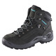 Lowa Renegade GTX Mid Shoes Women anthracite/turquoise